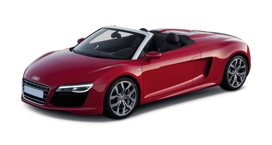 Audi Car Hire Audi R8 V8 Spyder car hire Hire