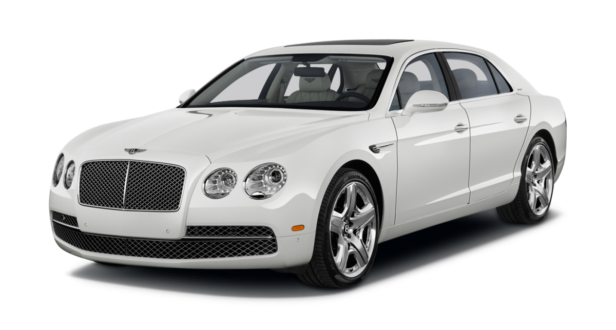 Bentley Continental Flying Spur car hire Front View