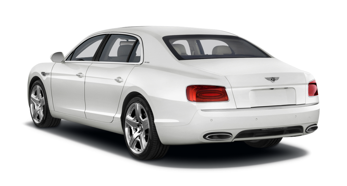 Bentley Continental Flying Spur car hire Rear View