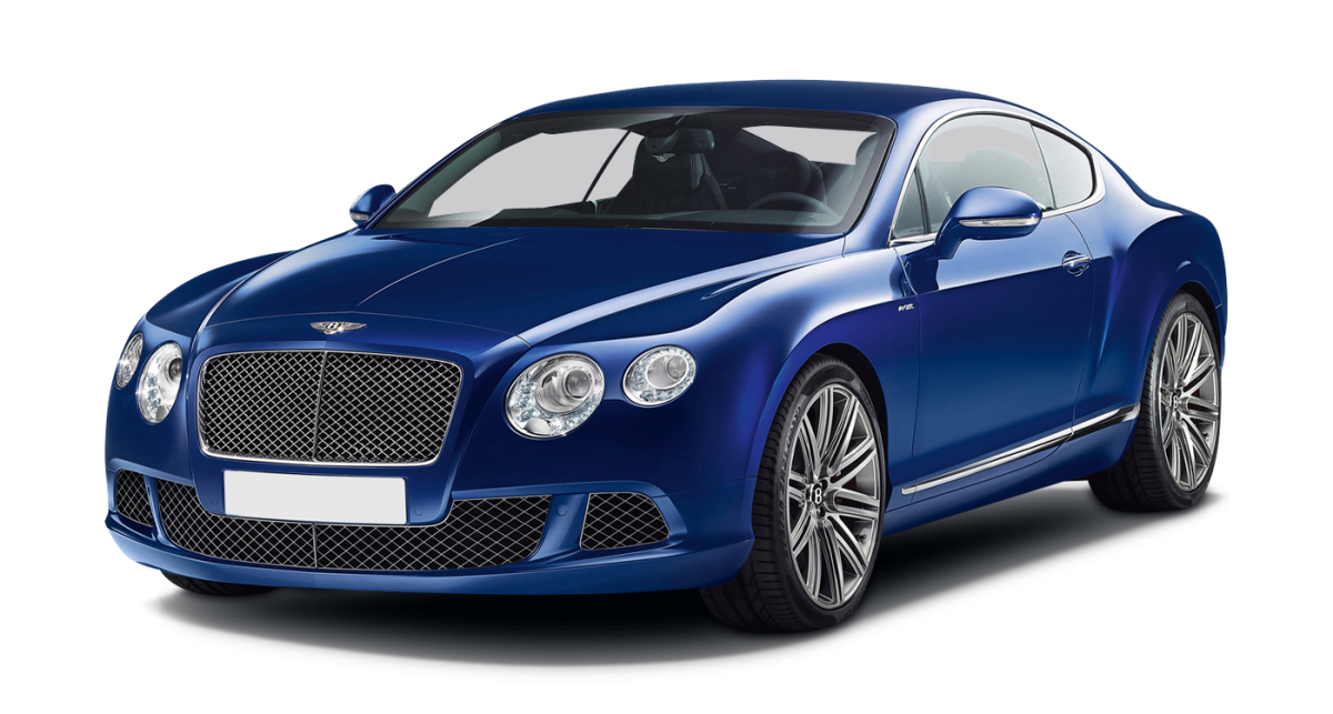 Bentley Continental GT Speed car hire front view