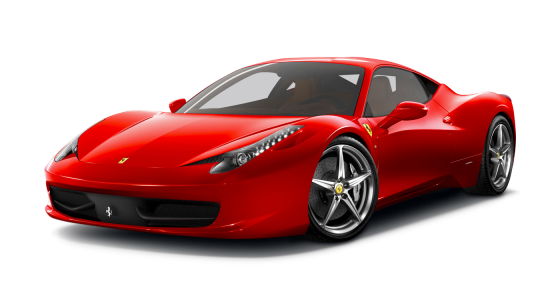 Ferrari car hire Ferrari 458 Italia car hire Luxury car hire Scotland