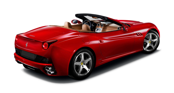 Ferrari car hire Ferrari California car hire Luxury car hire Scotland