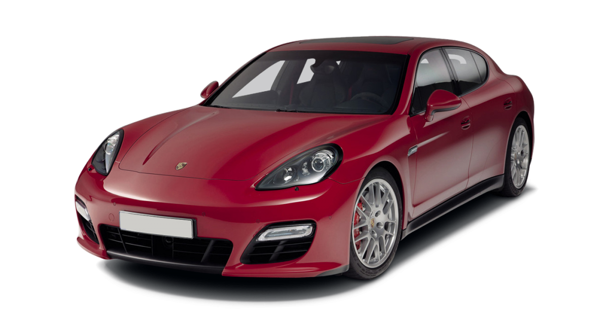Porsche Panamera car hire front view