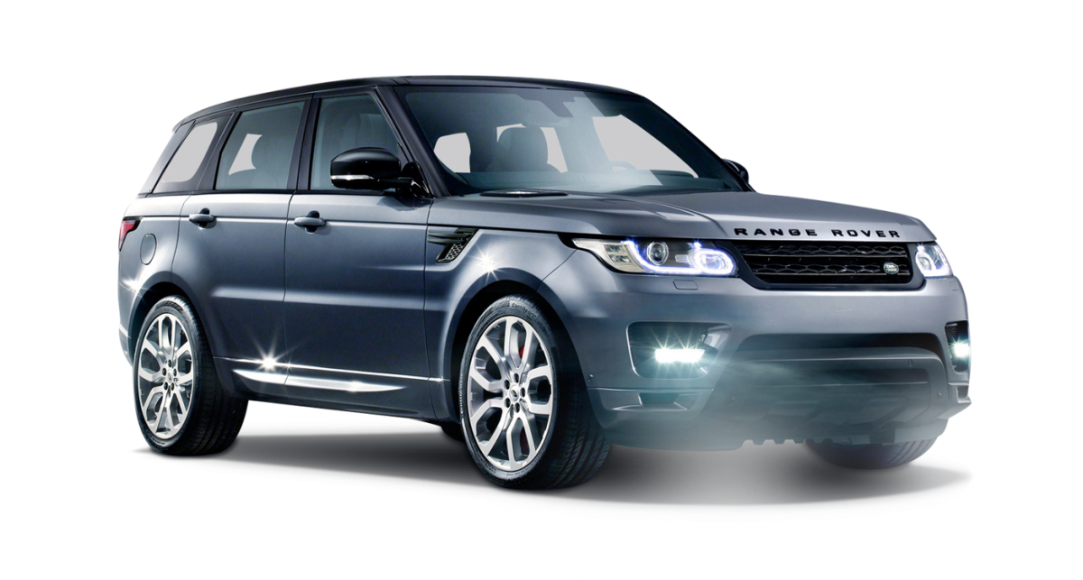 Range Rover Sport car hire front view
