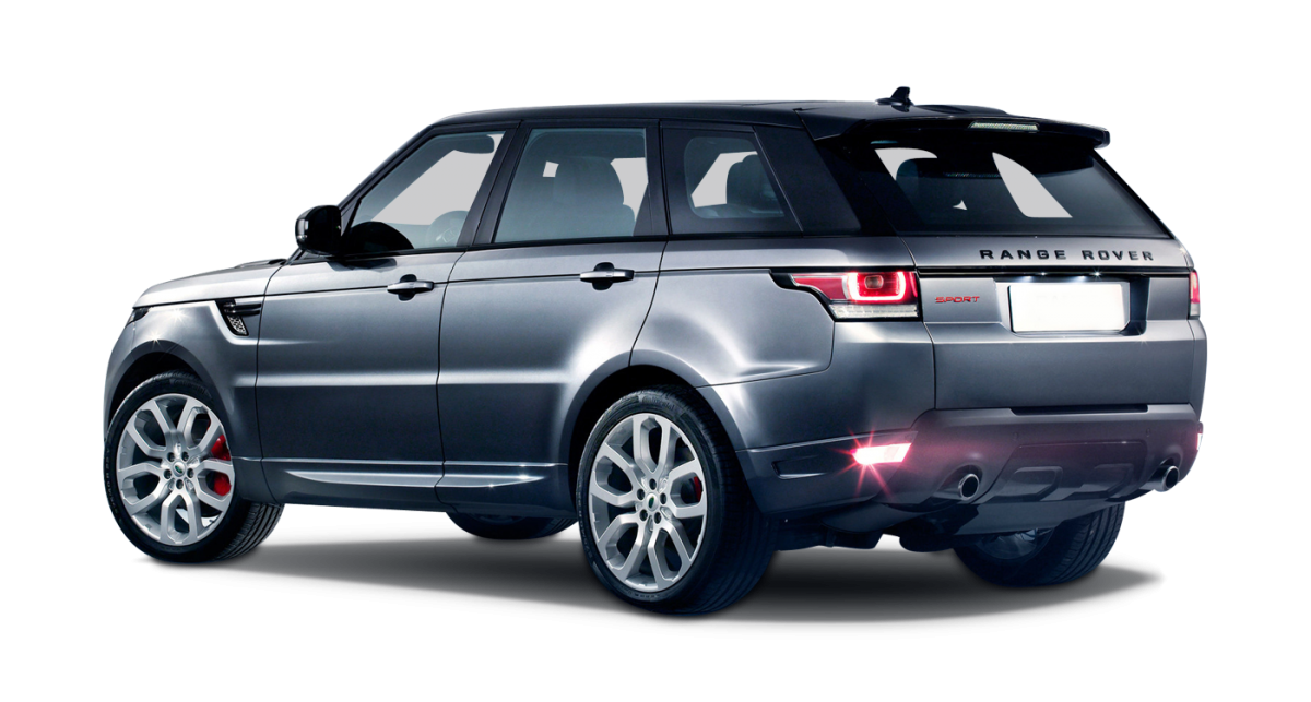 Range Rover Sport car hire rear view
